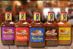The Best BBQ Ribs Around Lyons IL - Famous Dave's - Sauces