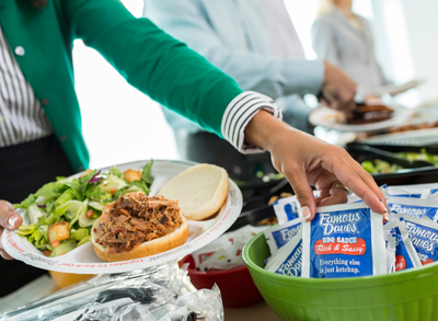 FREE Catering Quote: BBQ Catering in Chicago | Famous Dave's - corporate-catering-buffet-2