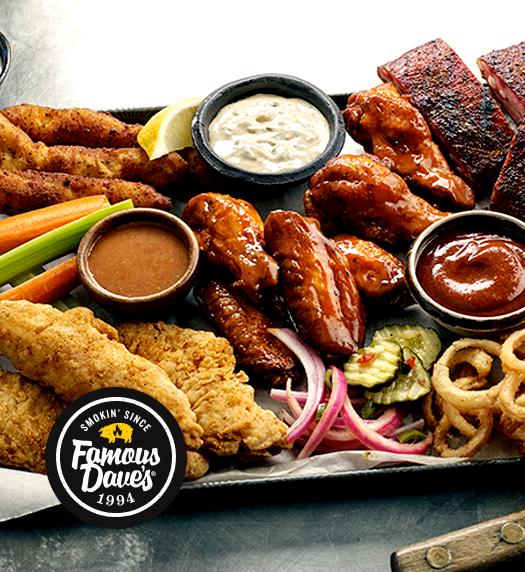 Award-Winning BBQ Chicago: Restaurants & Catering | Famous Dave's - home