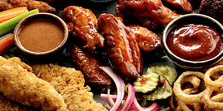 The Best BBQ Ribs Around Lake Zurich IL - Famous Dave's - menu-appetizers