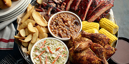 Carol Stream IL Barbecue Take Out Restaurant - Famous Dave's - menu-famous-feasts